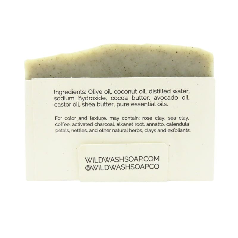 Wild Wash Rosemary Lime Bar Soap