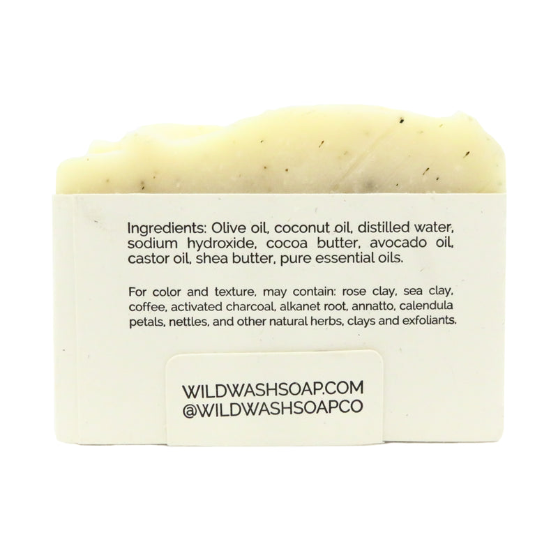 Wild Wash Tea Tree Calendula Bar Soap