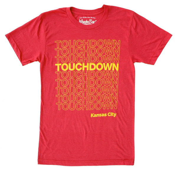 Wonderboy Apparel Touchdown Kansas City Tee