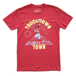 Wonderboy Apparel Touchdown Town Tee