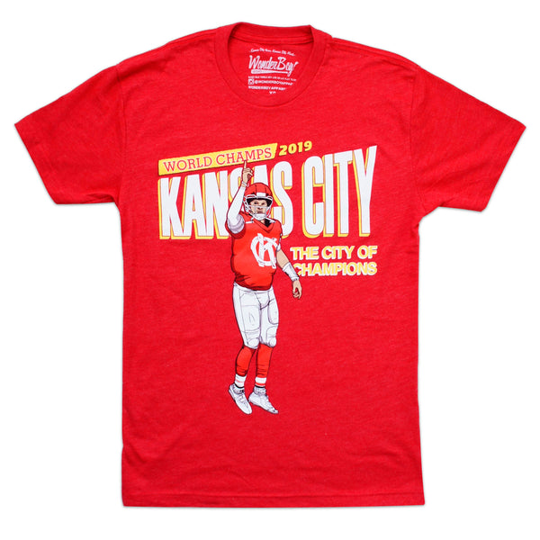 Wonderboy Apparel City of Champions Tee