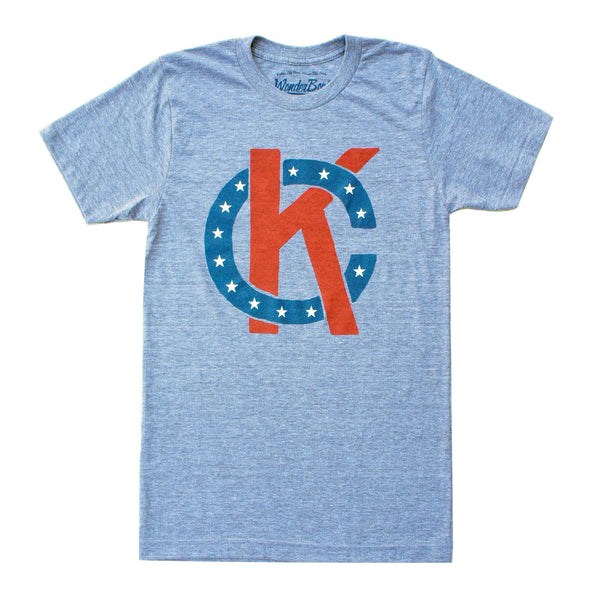 Wonderboy Apparel KC Tee - Red, White & Blue
