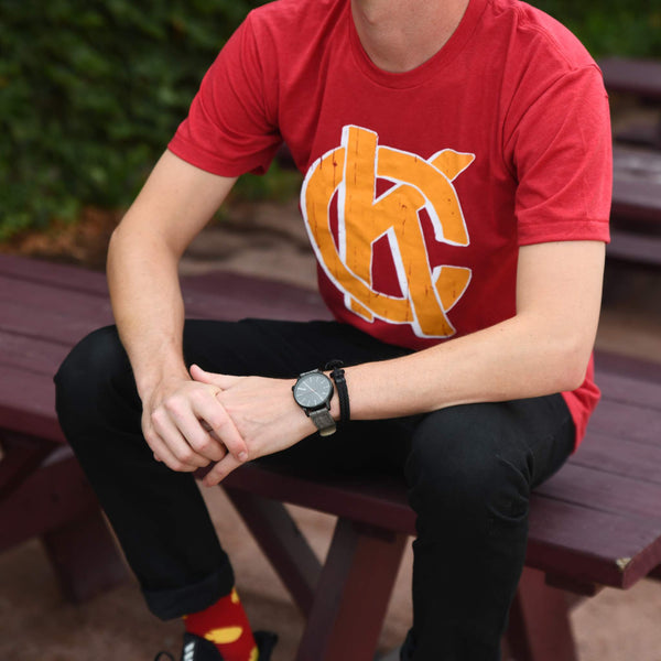Wonderboy Apparel KC Tee - Red & Yellow