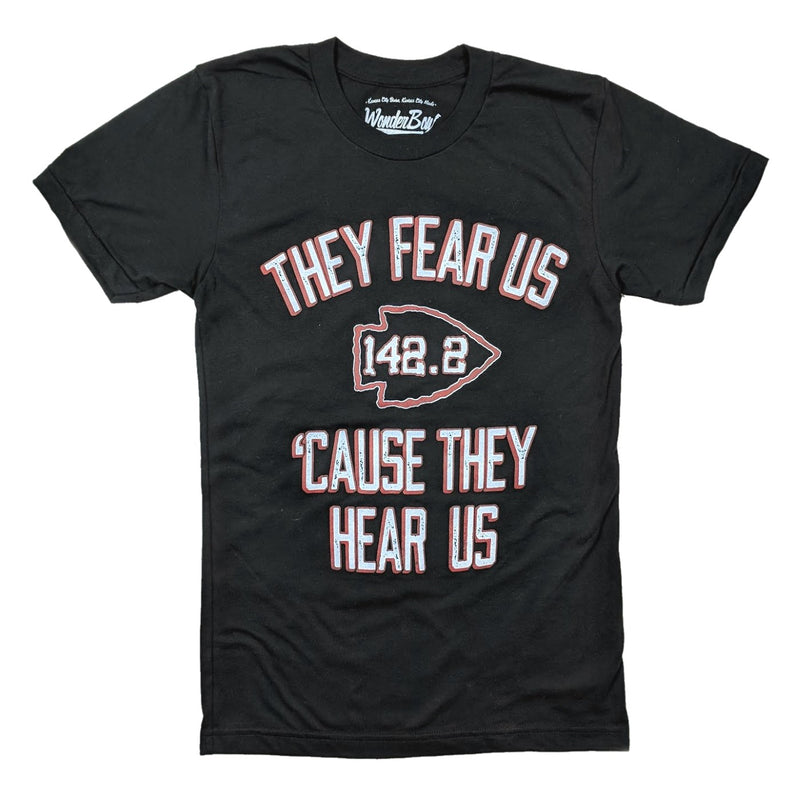 Wonderboy Apparel Fear Us Tee