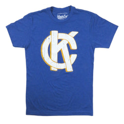 Wonderboy Apparel KC Tee - Royal Blue & Gold