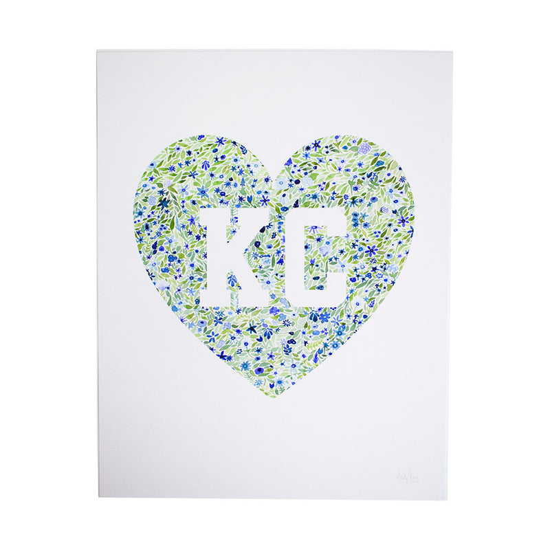 Carly Rae Studio KC Heart Print