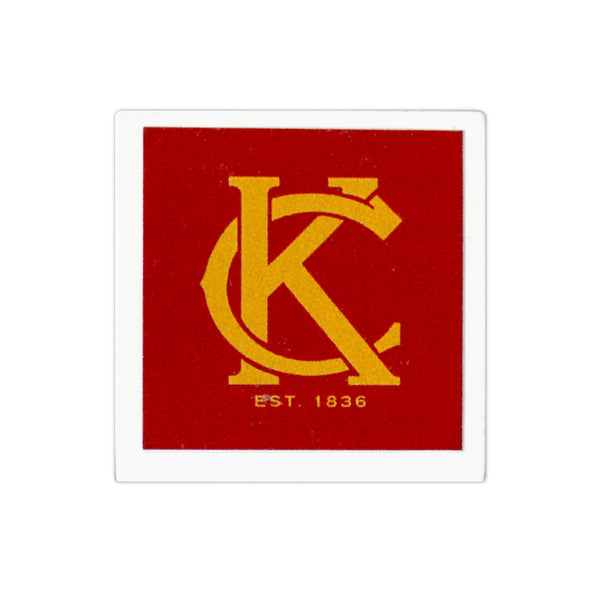 KC Logo Magnet - Red & Yellow