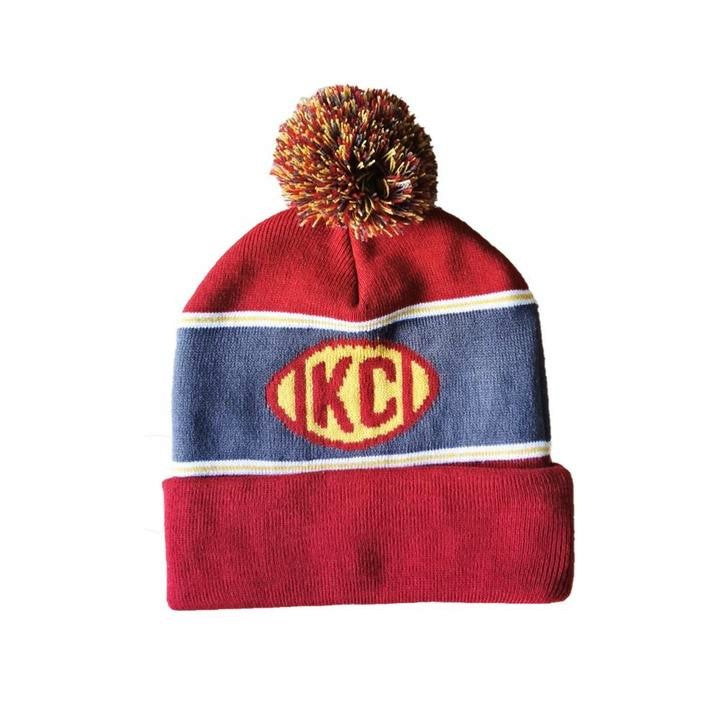 The Kansas City Clothing Co. KC Football Beanie