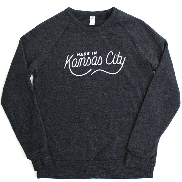 Made in Kansas City Pullover - Charcoal