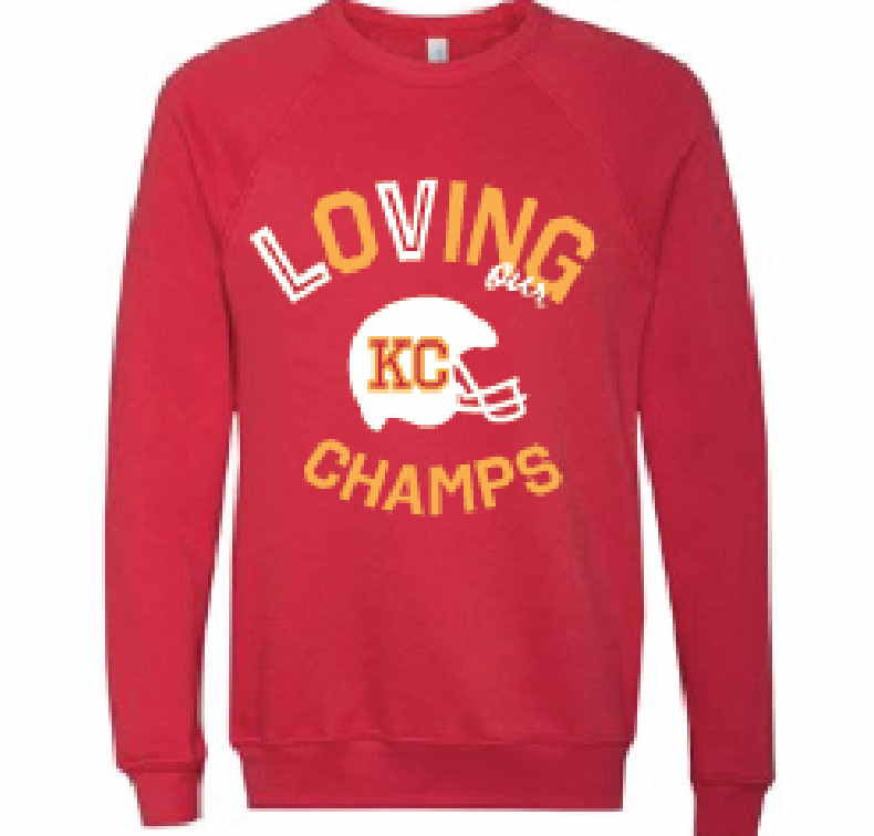 Local T LoVing Our Champs Sweatshirt