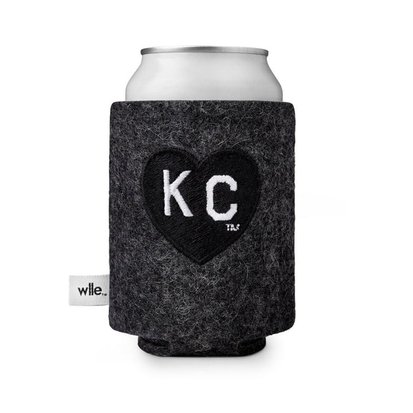 wlle x Charlie Hustle KC Heart Drink Sweater - Black