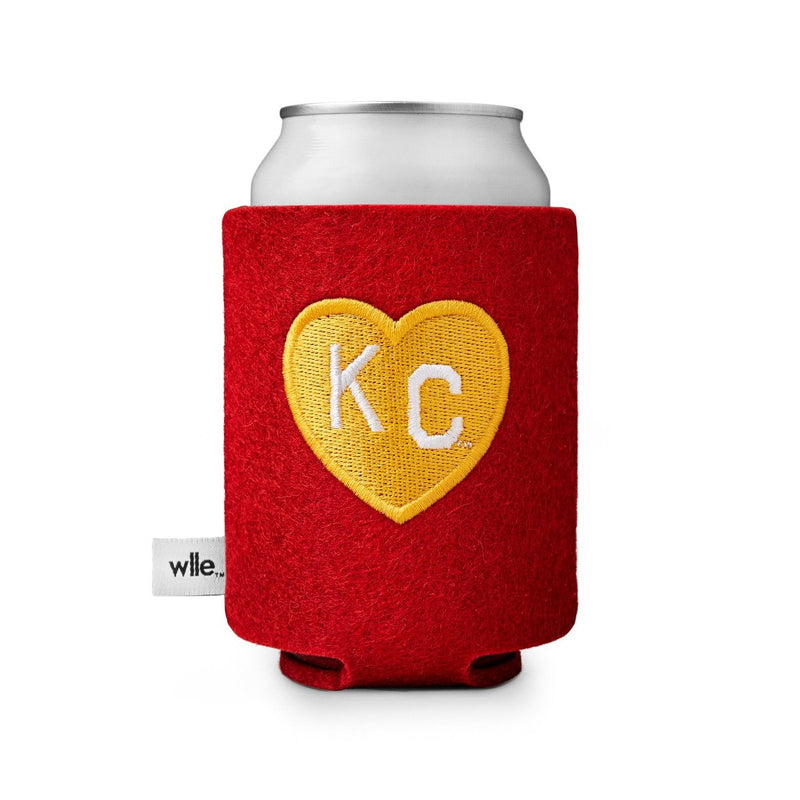 wlle x Charlie Hustle KC Heart Drink Sweater - Red