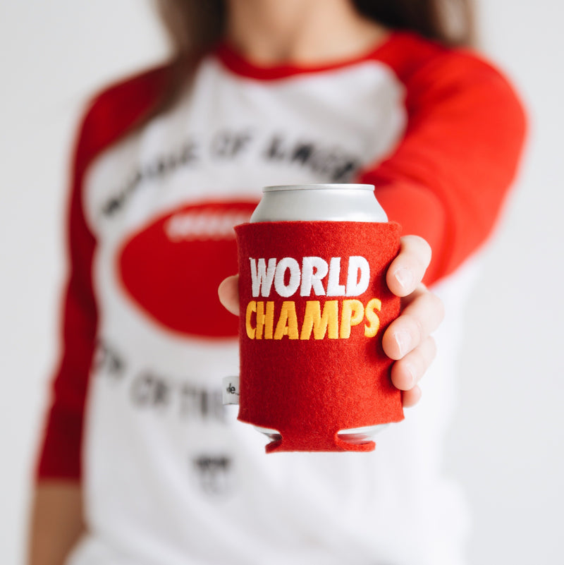 wlle World Champs Drink Sweater - Red