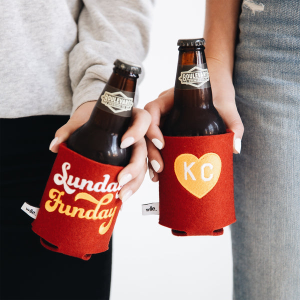 Sandlot Goods Sunday Funday Wool Koozie