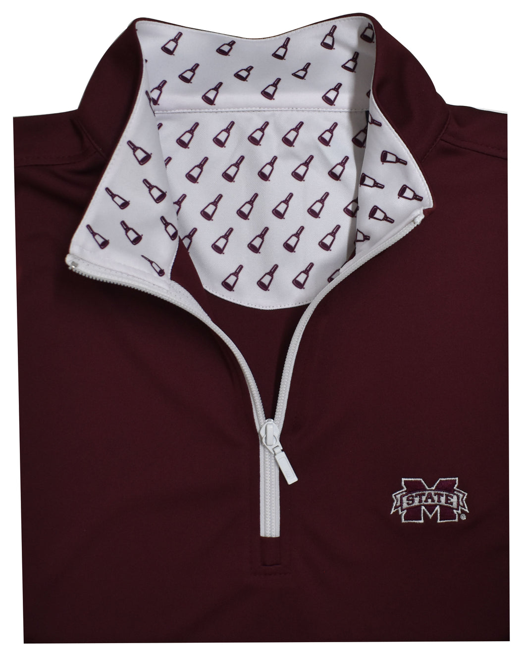 MSU Mississippi State Performance Quarter-Zip Pullover