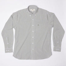Load image into Gallery viewer, Duck Head Walton Performance Gingham Shirt: Shadow Green