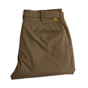 Duck Head Gold School Chino Pant: Olive Drab