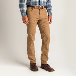 Duck Head 1865 Five-Pocket Field Canvas Pant: Buckskin