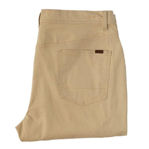 Duck Head 1865 5-pocket Pinpoint Canvas Pant: Sand
