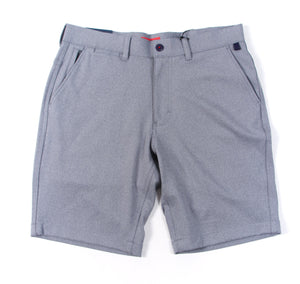 Halsey Breakwater Sport Short: Grey Heather