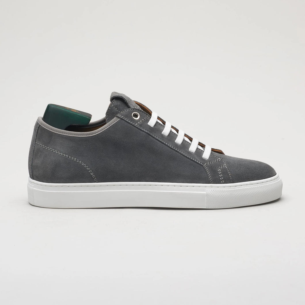 Pastori Julius Velour Sneaker: Grey