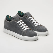 Load image into Gallery viewer, Pastori Julius Velour Sneaker: Grey