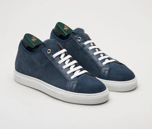 Load image into Gallery viewer, Pastori Julius Velour Sneaker: Navy