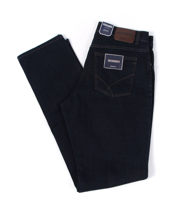 Brax 80-3000-22 Cooper Masterpiece Stretch Denim: Dark Blue