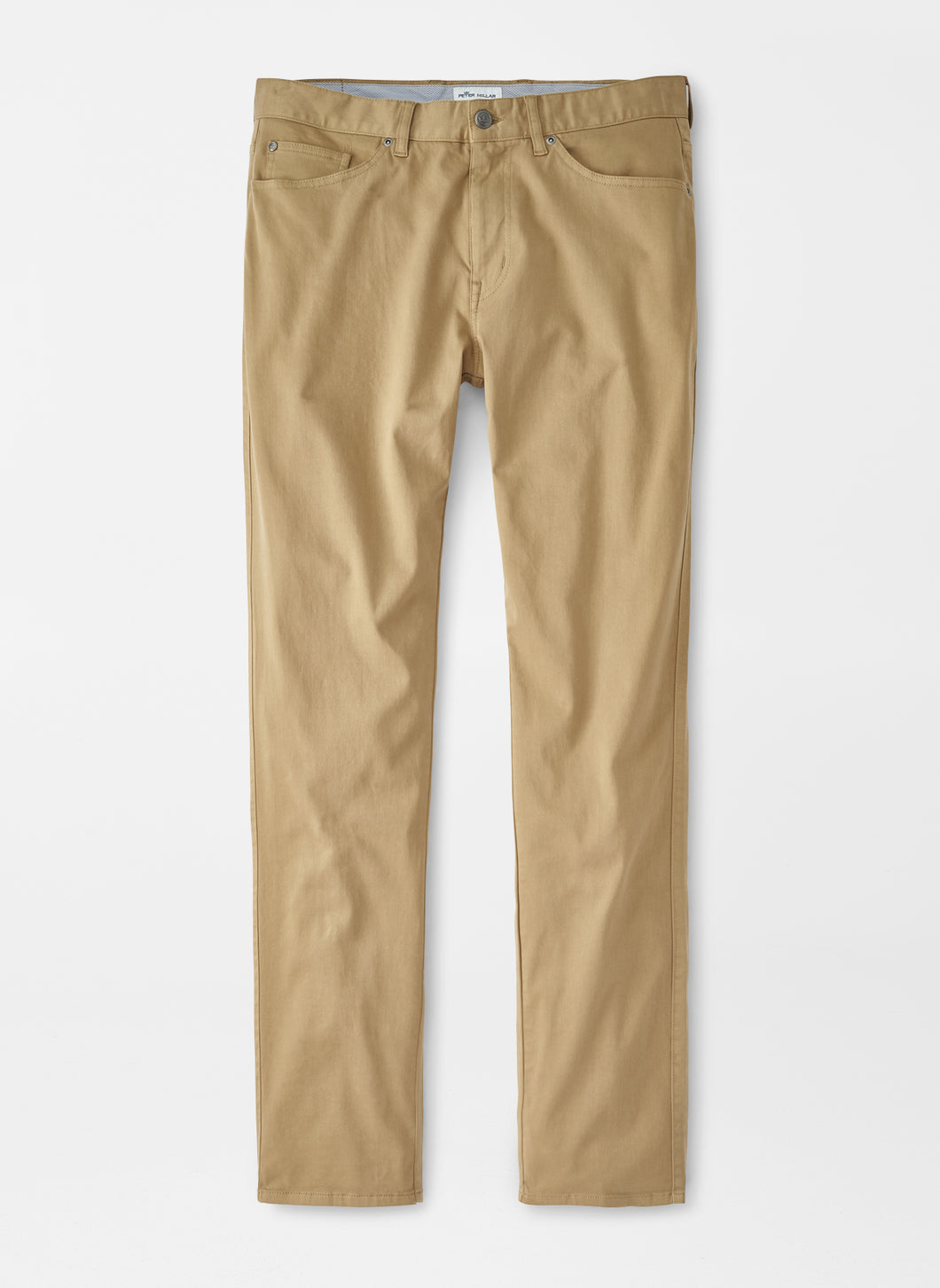 Peter Millar Ultimate Sateen Five-Pocket Pant: Khaki