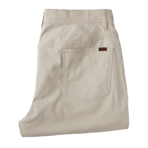Duck Head 1865 5-pocket Pinpoint Canvas Pant: Stone