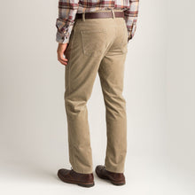 Load image into Gallery viewer, Duck Head 1865 Five-Pocket Corduroy Pant: Khaki
