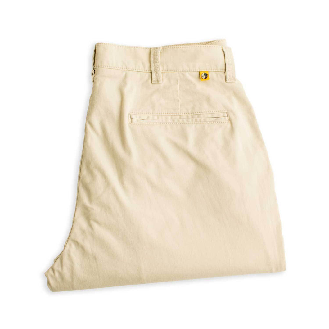 Duck Head Gold School Chino Pant: Stone
