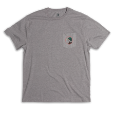 Load image into Gallery viewer, Duck Head Logo T-Shirt: Heather Grey