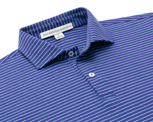 Load image into Gallery viewer, Holderness & Bourne Egan knit shirt: Navy/Mint