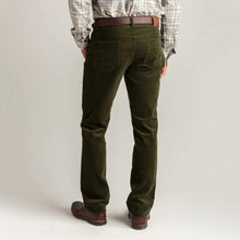 Load image into Gallery viewer, Duck Head 1865 Five-Pocket Corduroy Pant: Forrest Green
