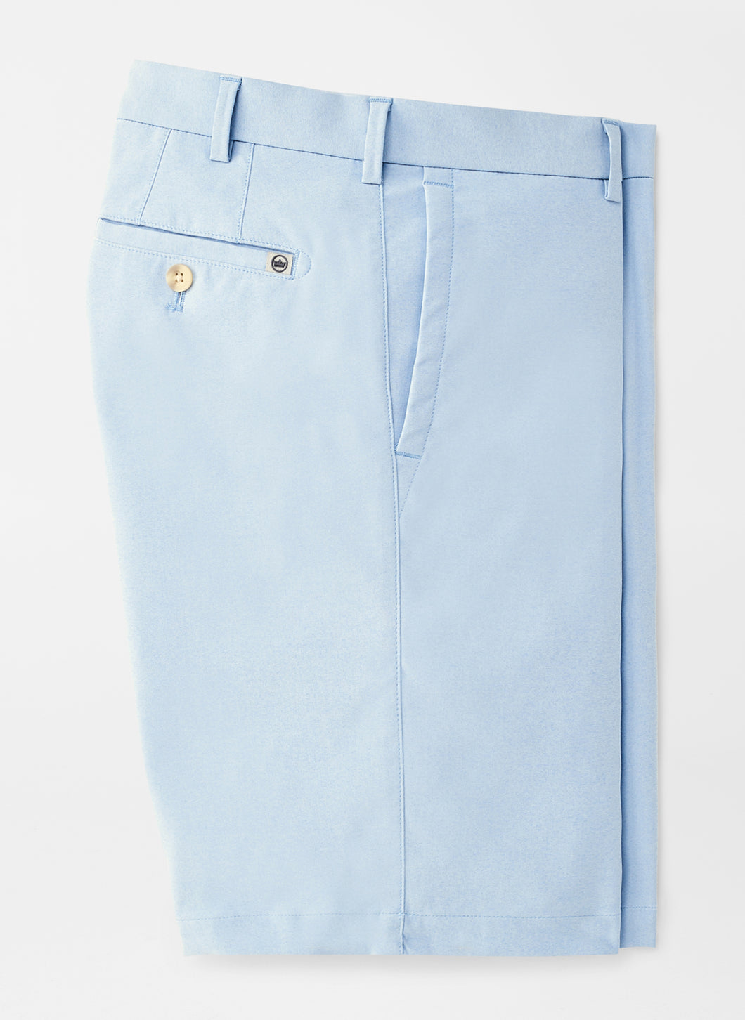 Peter Millar Natural Touch Chambray Short: Lake Blue