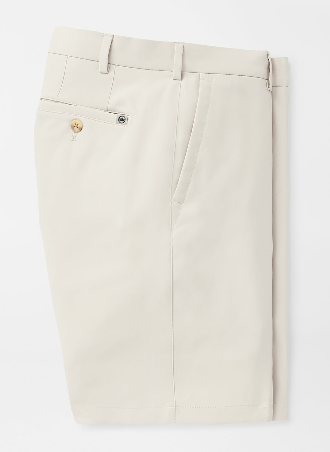Peter Millar Salem High Drape Performance Short: Stone