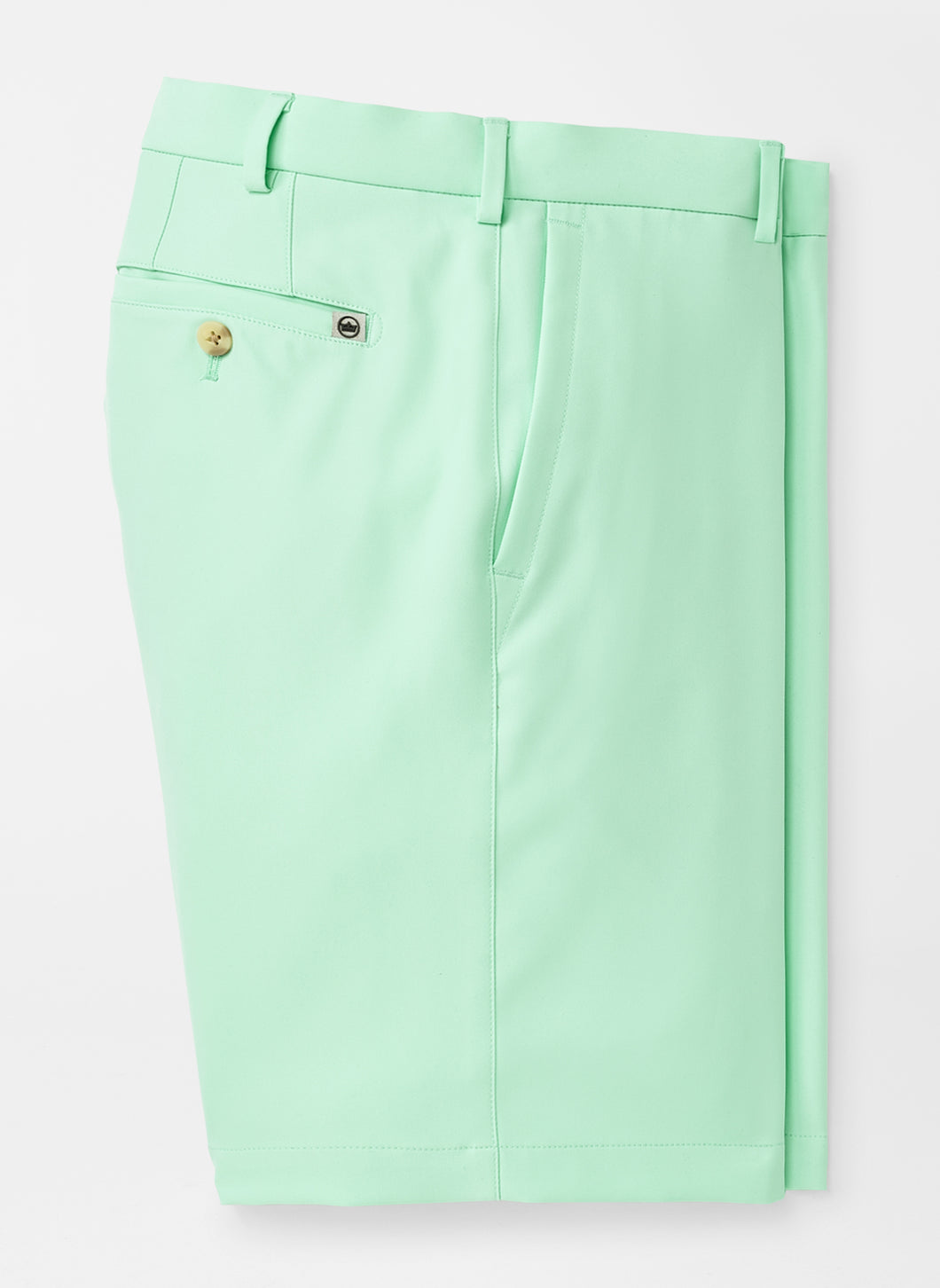 Peter Millar Salem High Drape Performance Short: Yucca