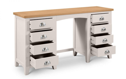 Richmond Twin Pedestal Dressing Table