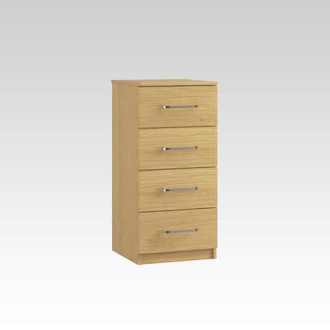 Raven 4 Drawer Narrow Chest