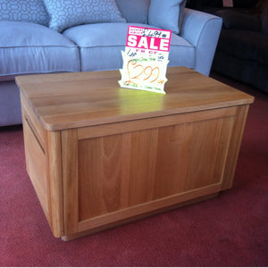 Multi use oak coffee table (Clearance)