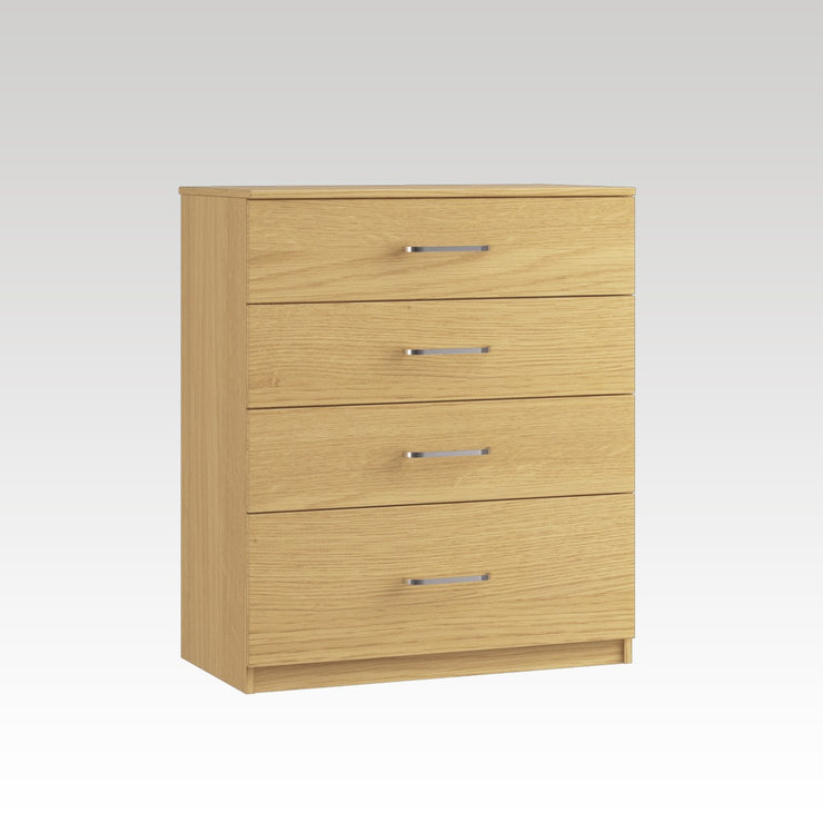 Raven 4 Drawer Chest (1 Deep Drawer)