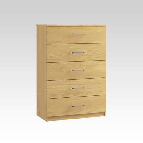 Raven 5 Drawer Midi Chest
