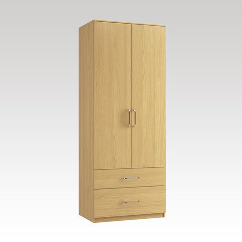 Raven Gents Tall Wardrobe (1 deep drawer)