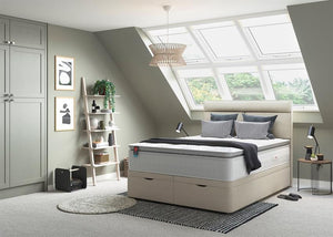 Slumberland Whisper Gel Fusion 2800 Bed