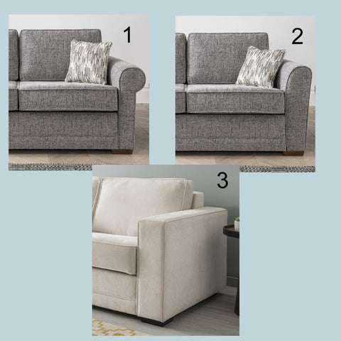Amy 2 Seater Sofa Bed
