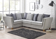Athena Left Hand Facing Large 2 Arm Chaise Group Sofa