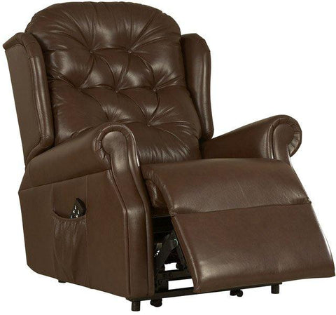 Celebrity Woburn Leather Recliner Chair