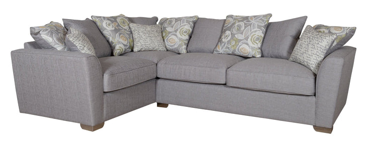 Fantasia Small 2 by 1 Seater Left Hand Facing Pillow Back Corner Group