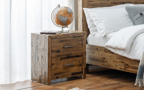 Hoxton 2 Drawer Bedside Table